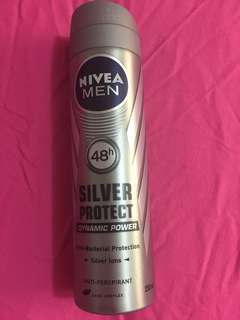 BN Nivea men silver protect