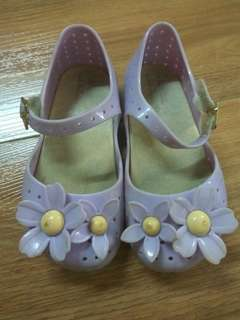 Mini Melissa Lilac girl shoes