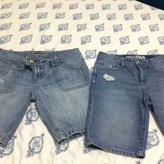 denim shorts bundle