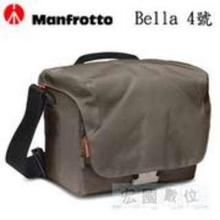 【Manfrotto 曼富圖 BELLA II 類單眼相機包 MB SSB-2BC 灰綠色】側背包