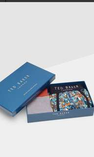 Ted baker gift set boxer and sock