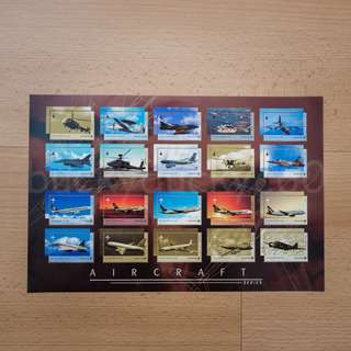 Aircraft Series Stamps