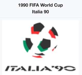 1990年世界盃麥當勞紀念玻璃杯