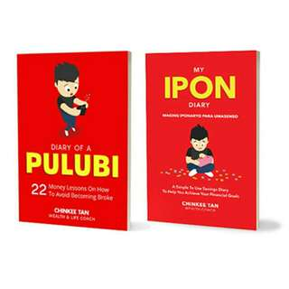 Diary of a Pulubi & Ipon Diary Bundle by Chinkee Tan