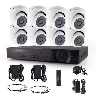 [WHOLESALE]CCTV Package - Full HD 4CH/8CH/16CH Hybrid 6 in 1 DVR + 4/8/16 Full-HD SONY 1080P 2 Megapixel Dome/Bullet/Tube (Indoor/Outdoor)Smart IR Day/Night CCTV Surveillance Security Camera (7-STAR*)