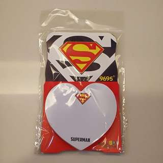 Superman Stick On Note Pad