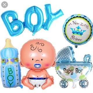 Baby shower items
