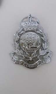 港英政府年代警隊及入境處徽章