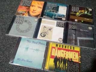 Set CDs The Wake Desert Wolves etc