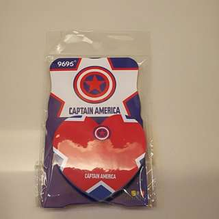 Captain America Stick On Note Pad
