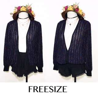 Branded Button Down Cardigan K51