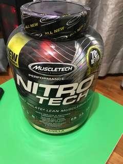 nitro tech isolated+ lean