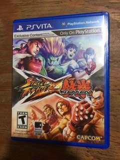 PS Vita Game Street Fighter X Tekken R1