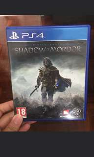 PS4 GAMES SHADOW OF MORDOR