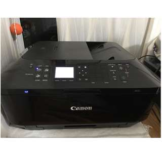 Wireless Canon  PIXMA MX727 Inkjet Multi-Function Printer