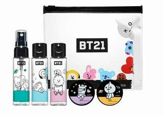 BT21 X Olive Young Official Travel Kit