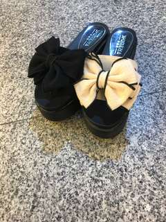🚚 #女款厚底拖鞋 👉2色35.36.37.38.39 $390