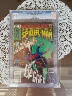 Spectacular Spider-man 64 CGC 9.6