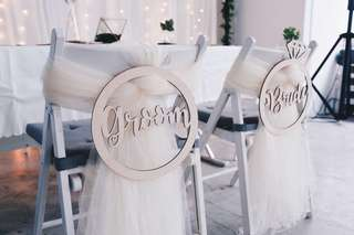 [Rental] Ring groom bride signage