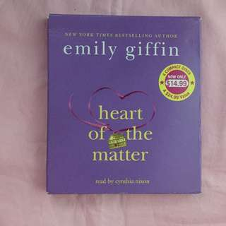 Heart of the Matter (Emily Griffin Audiobook)