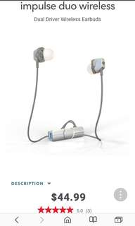 IFROGZ IMPULSE DUO EAR BLUETOOTH PHONES