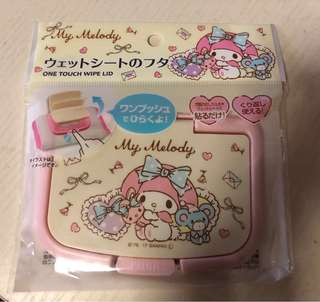 My Melody Wipe Lid
