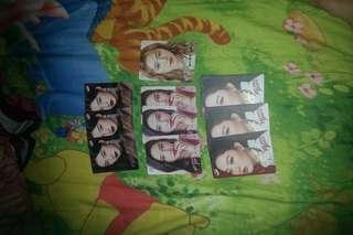 大量女團Yes card
