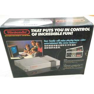 Nintendo NES-001 + 1 Game (Super Contra) 1988