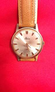 Vintages StarLux Big Size Gold Plated Watch
