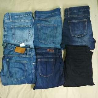 Mans Jeans Uniqlo