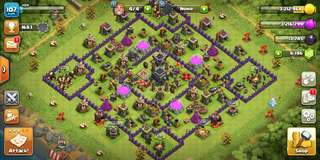 Clash of Clans lvl 107/th 9 account