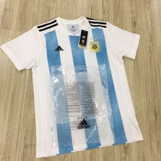 INSTOCK🔥 SALE ARGENTINA WORLD CUP JERSEY WORLD CUP KIT 2018 Argentina home jersey