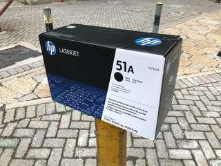 HP Q7551A 黑色 原裝碳粉盒