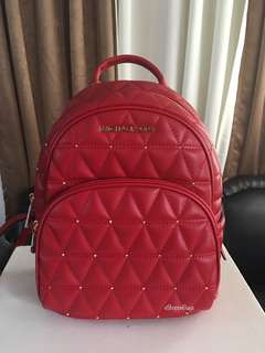 Michael Kors Quilted Backpack
