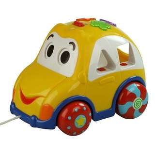 Mainan anak edukasi winfun rhymes and sorter cars