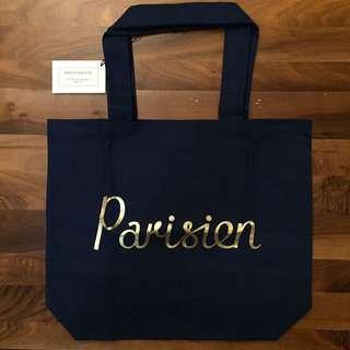 Maison Kitsune Parisien Tote Bag