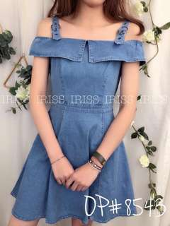 Korea jeans dress
