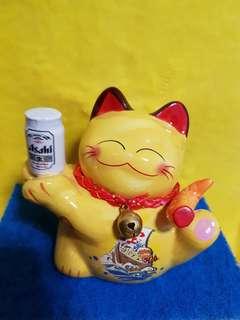 Fortune Cat Asahi