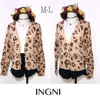 Branded Button Down Cardigan K52