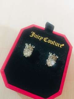 Juicy Couture 心型閃爍石耳環