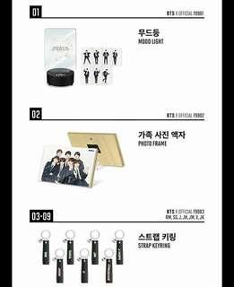 BTS Festa 2018 Official Merchandise