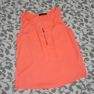 Sleeveless Cache Cache Sleeveless Top