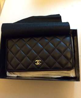 Brand New Chanel Porte YEN Leather Wallet