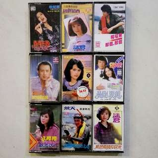 卡带磁带 cassette tape