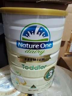 Milk Powder nature one toddler 1-3years 900g