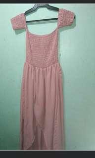 Off shoulder dress/ boho dress