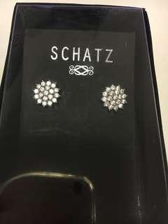 閃石水晶earring
