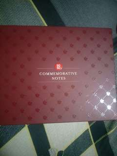 SG 50 commemorative notes *Full set*