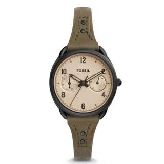 🚚 [Must Go] Fossil ES4047 Women's Quartz Stainless Steel and Leather Automatic Watch
