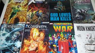 PRICE REDUCED!!! Marvel comic books